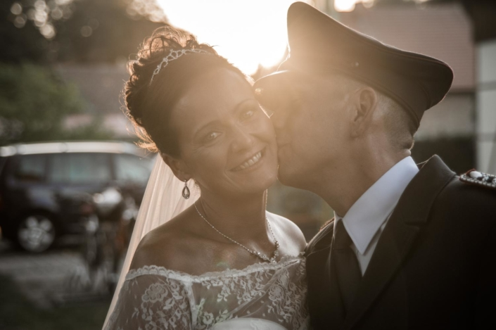 Hochzeit im Sonnenuntergang Weddingtime