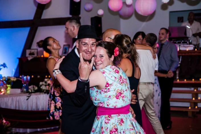 Hochzeit Party Disco Shooting