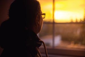Sonnenuntergang Shooting Gegenlicht Fotograf Stendal