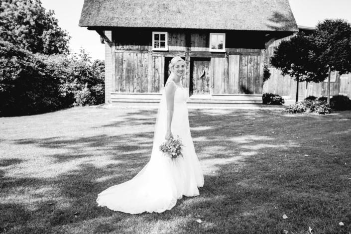Hochzeitsfotografie schwarz weiß wedding