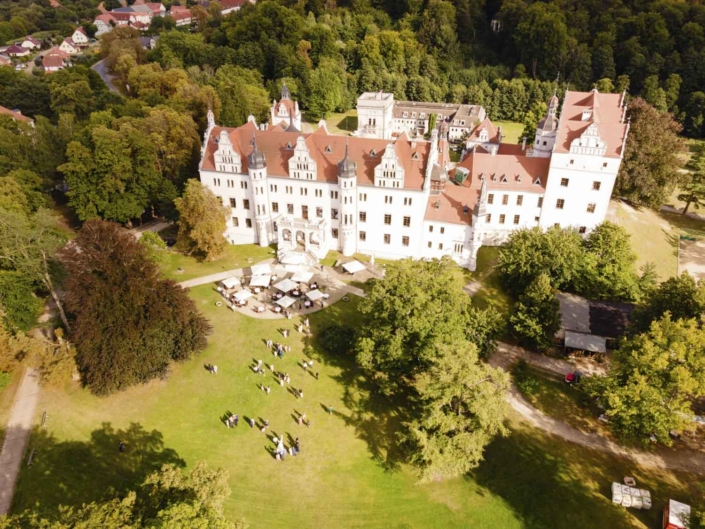 Schloß Boitzenburg Hochzeitsfotograf Hochzeitsbilder Wedding